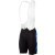 Castelli Evoluzione Bib Short - Men's Black/Drive Blue