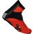 Castelli Narcisista Shoe Covers Red