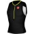 Castelli Free Men's Sleeveless Tri Top Black/Yellow Fluo
