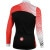 Castelli Sfida Long Sleeve Full-Zip Jersey Back