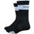DeFeet Cyclismo 5in Socks Black/White Stripe