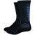 DeFeet Levitator Trail 6in Socks Black/Graphite