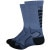 DeFeet Levitator Trail 6in Socks Graphite/Black
