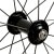 Fulcrum Racing 7 Road Bike Wheelset Front Hub
