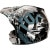 Fox Racing V3R Carbon Helmet 3/4 Back