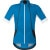 Gore Bike Wear Oxygen WindStopper Soft Shell Jersey - Short-Sleeve - Men's Splash Blue/White