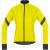 Gore Bike Wear Power 2.0 Windstopper Softshell Jacket - Men's Neon Yellow/Black