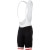 Giordana Silverline Men's Bib Shorts Black/Red Leg Band (*Discontinued)
