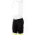 Giordana Silverline Men's Bib Shorts Black/Fluo Yellow Leg Band (*Discontinued)