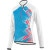 Louis Garneau Gardena 2 Jersey - Long-Sleeve - Women's Geometric Atomic Blue