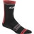 Louis Garneau Tuscan Merino Socks Black/Red/White