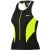 Louis Garneau Pro Women's Tank Top Black/Fluo Yellow