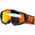 100% ACCURI Goggles Gunmetal - Mirror Red Lens