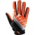 100% Ridefit Glove Slant Orange