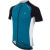 Pearl Izumi Elite Pursuit Jersey - Short-Sleeve - Men's Mykonos Blue/White