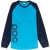 POC Flow Long Sleeve Jersey Boron Blue/Tungsten Blue