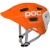 POC Trabec Race Helmet Orange/White