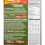 Powerbar Harvest Bars - Box 15 Bars Nutrition Facts/ Ingredients
