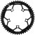 Rotor Round Road Outer Chainring Black