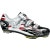 Sidi Spider SRS Mesh Shoes  Tecnomicro White/Black/Red Vernice