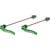 Salsa Stainless Flip-Offs Skewer - Pair Green