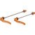 Salsa Stainless Flip-Offs Skewer - Pair Orange