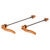 Salsa Titanium Flip-Offs Skewer - Set Orange