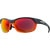 Smith Pivlock Overdrive Sunglasses Gray Orange/Red Sol-X-Ignitor-Clear