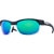 Smith Pivlock Overdrive Sunglasses Matte Black White/Green Sol-X-Ignitor