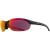 Smith Parallel Sunglasses Matte Black/Red Sol-X