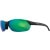 Smith Parallel Sunglasses Matte Black/Green Sol-X