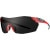 Smith PivLock V2 Max Sunglasses Matte Poppy/Blackout/Ignitor/Clear
