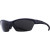 Smith Approach Sunglasses - Polarized Matte Black/Polar Gray Green/Ignitor-Clear