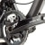 Santa Cruz Bicycles Blur TR Carbon SPX XC 2X10 Complete Mountain Bike Front Drivetrain