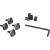 Thule Xsporter Adapters T-Track Accessory Kit