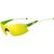 Tifosi Optics  Podium XC Interchangeable Sunglasses  White-Green/Clarion Yellow-AC Red-Clear