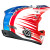 Troy Lee Designs D3 Composite Helmet  3/4 Back