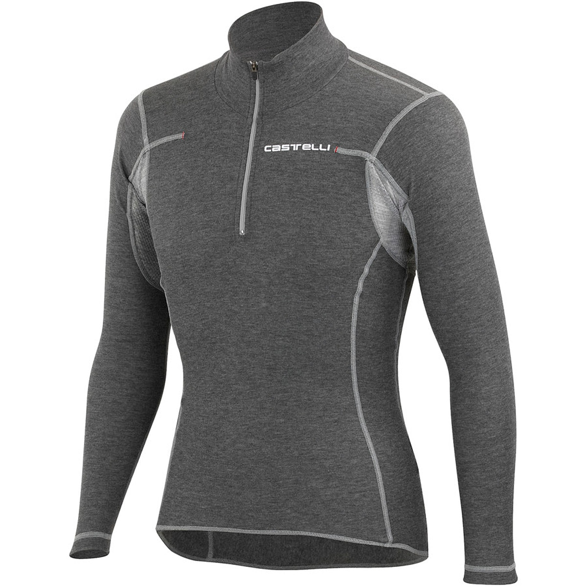 Castelli Flanders Warm Half-Zip Base Layer - Long Sleeve - Men's ...