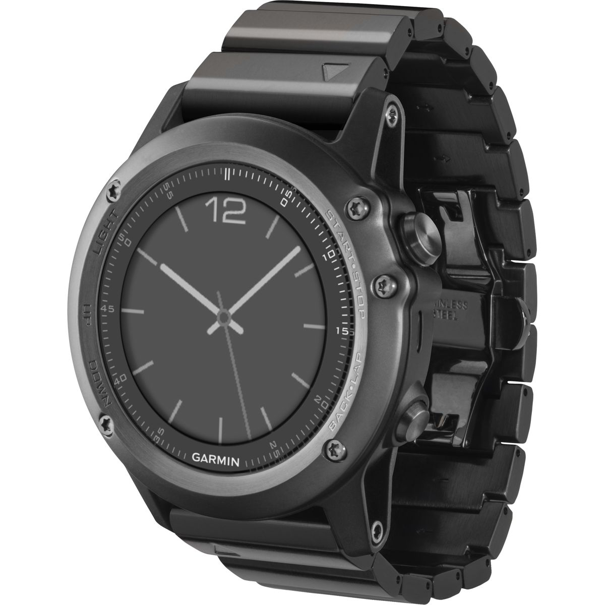 watch multisport sapphire training gps h gold white reg garmin fenix b with band c rose product