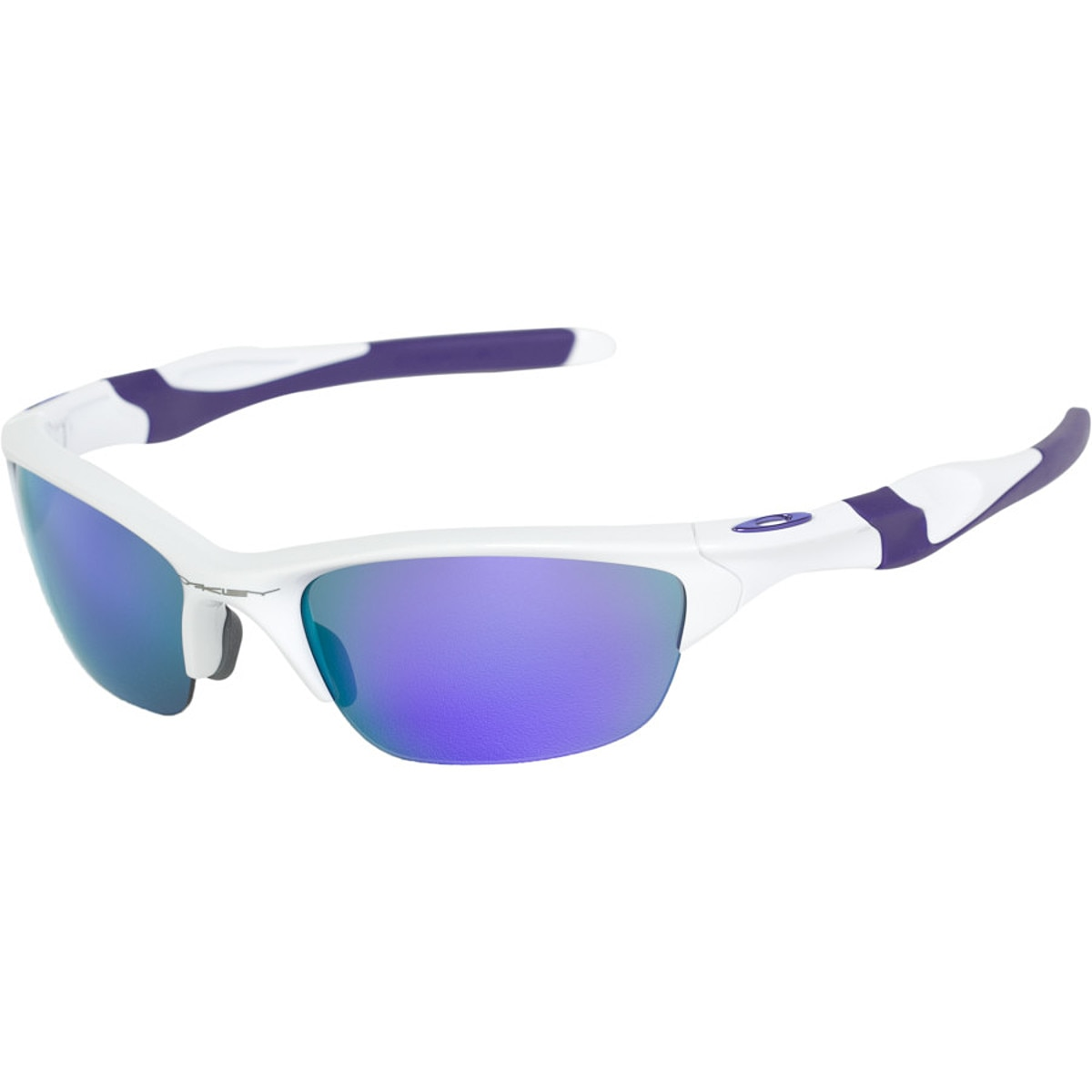 blue and silver oakley sunglasses  oakley half jacket 2.0 sunglasses