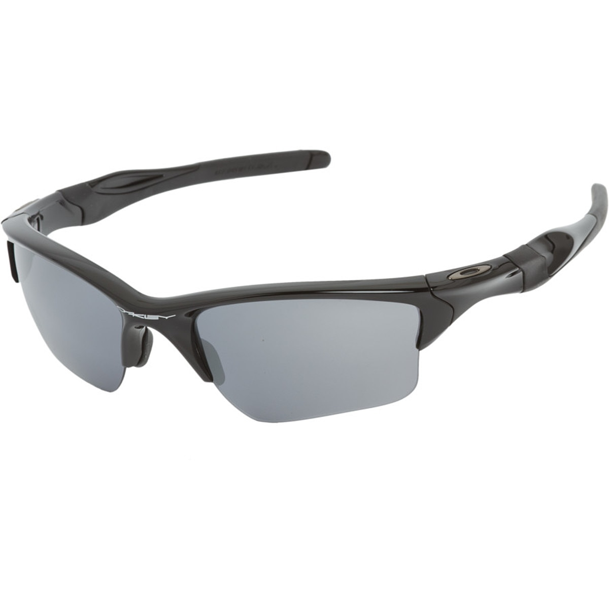 oakley half jacket replacement lenses black iridium polarized yms5  Oakley Half Jacket 20 XL Sunglasses