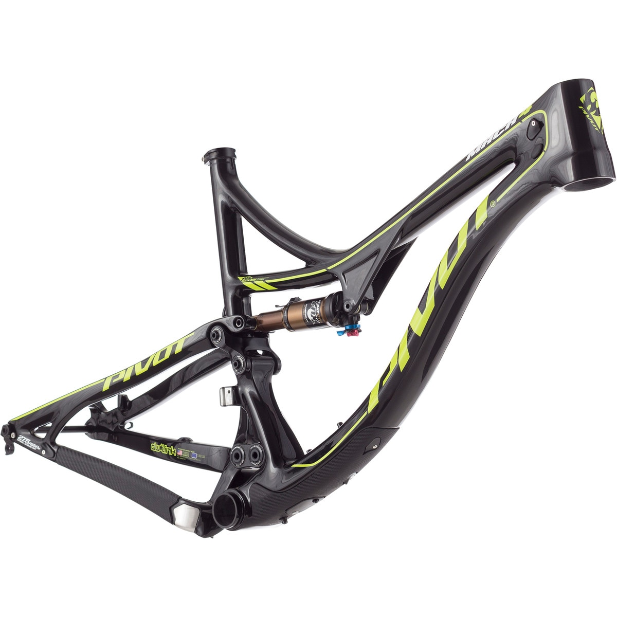 pivot mach 4 carbon mountain bike frame 2017