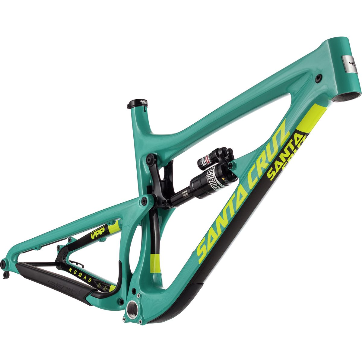 Santa Cruz Nomad Carbon CC Monarch Mountain Bike Frame