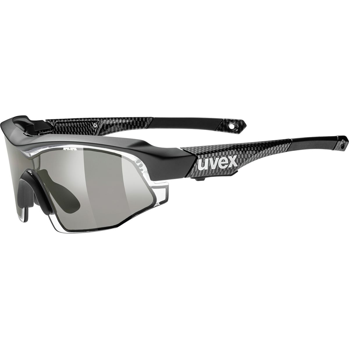 Shield Sunglasses  uvex variotronic shield sunglasses compeive cyclist