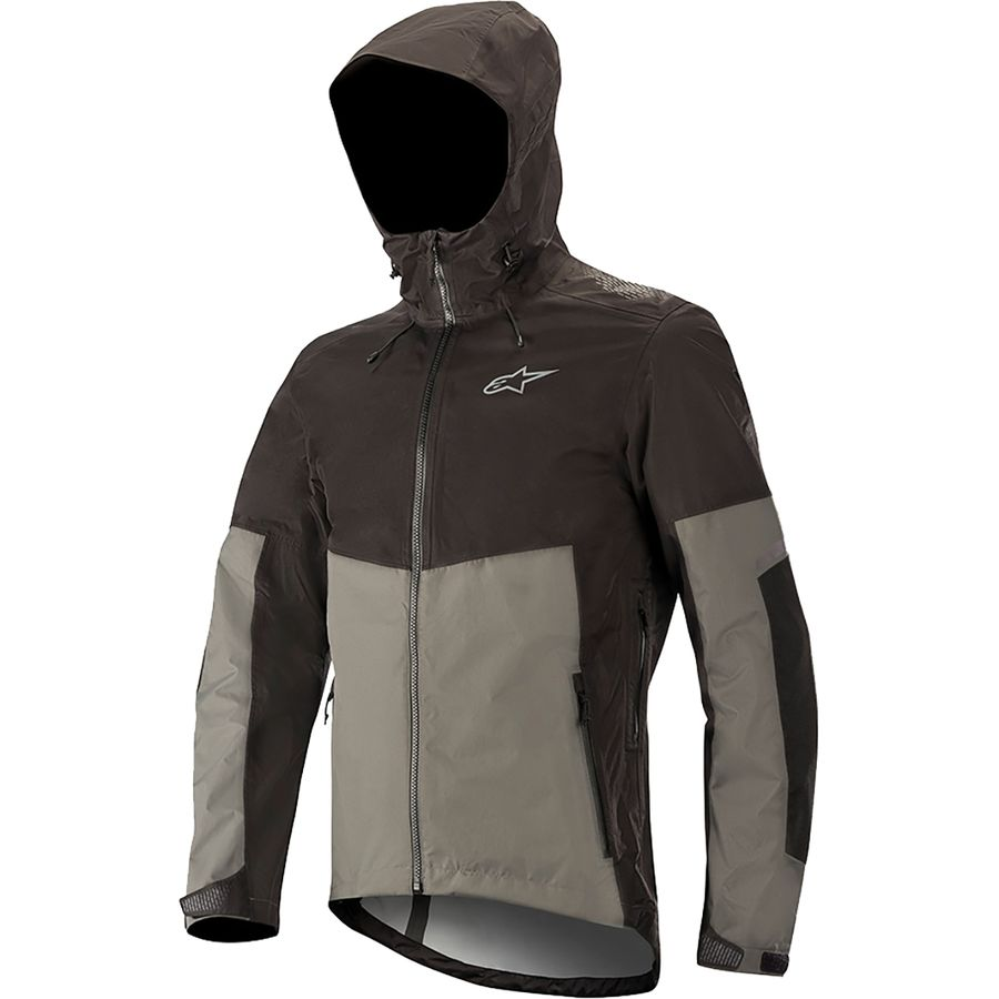 Grey Alpinestars Tahoe Waterproof Mens Cycling Shorts Men's Clothing