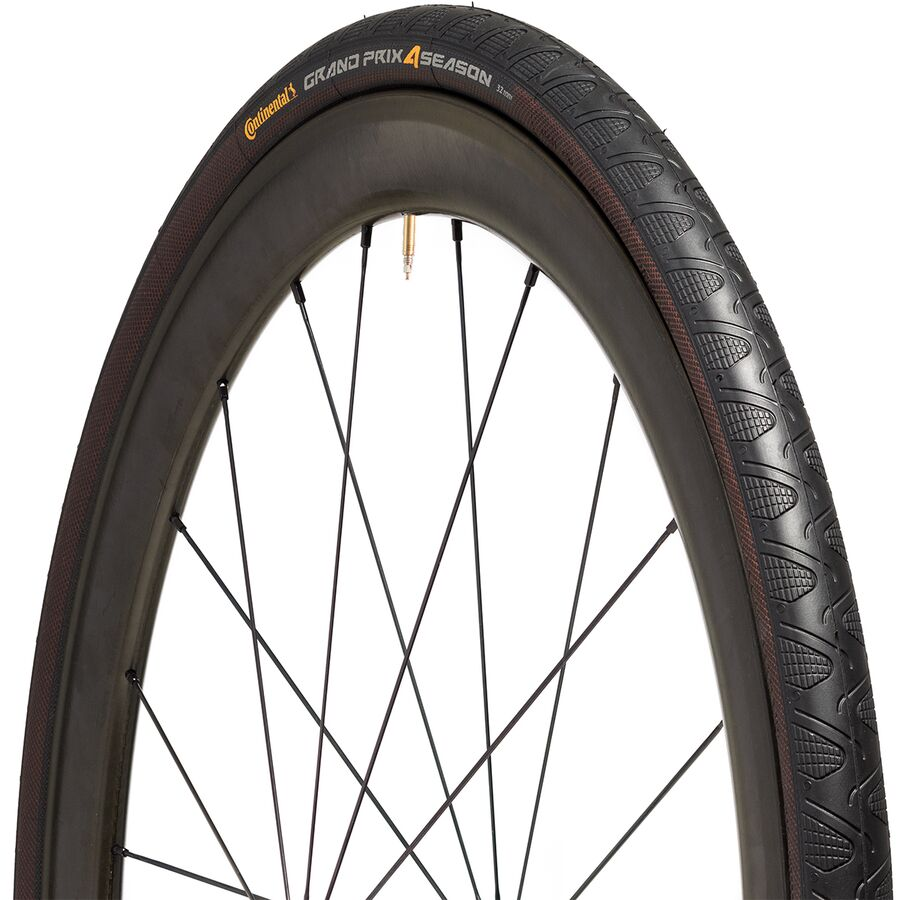 Continental Bicycle Tires >> Continental Grand Prix 4 Season Tire Clincher Competitive Cyclist