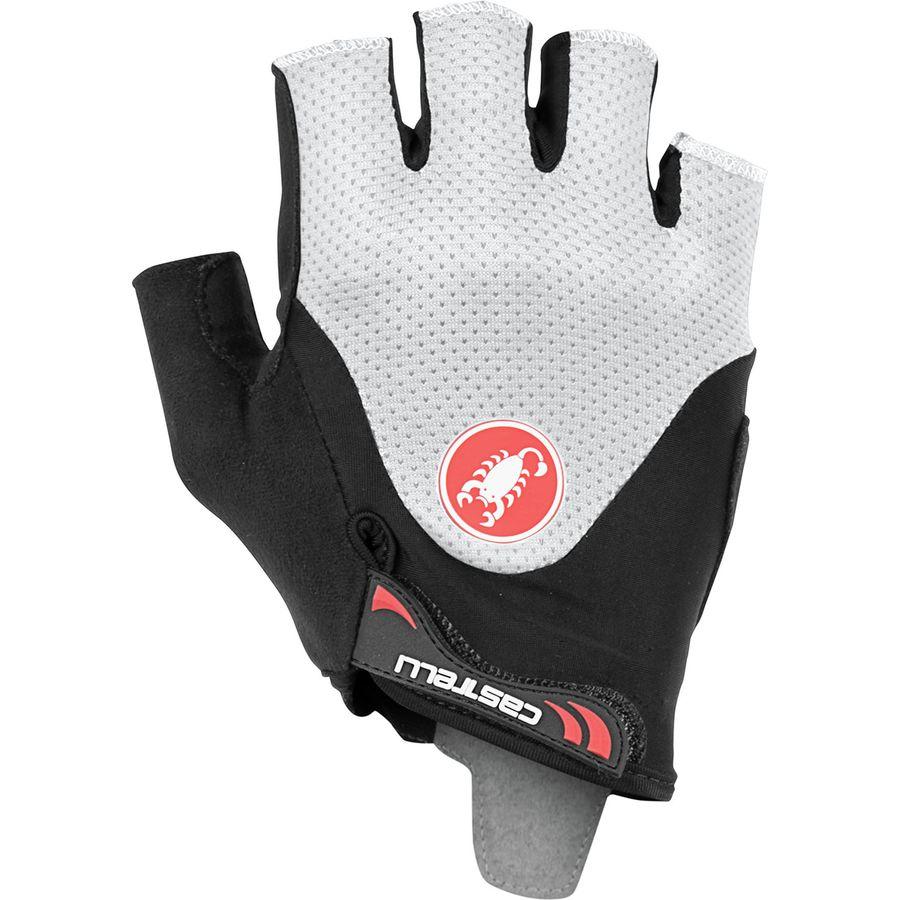 BLACK//IVORY NEW 2019 Castelli ARENBERG GEL 2 Summer Cycling Gloves