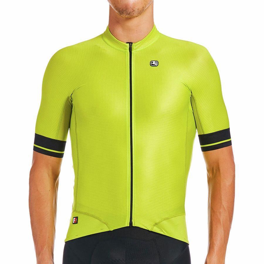 Giordana  Cycling Short Sleeve Jersey FR-C RRO Mens Black|BRAND NEW