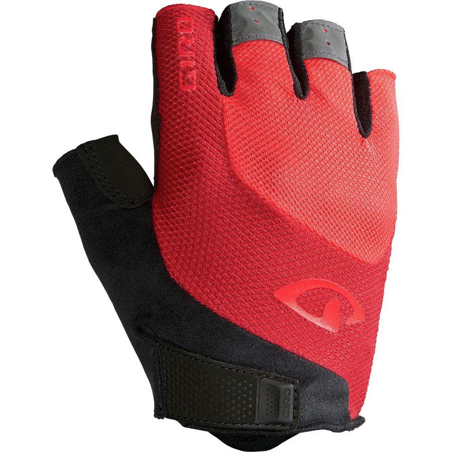 Giro Bravo Gel Bike Gloves Red
