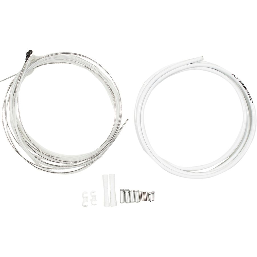 Jagwire Road Elite Sealed Gear Cable Kit STS-LF Coated Inner cable All Colours